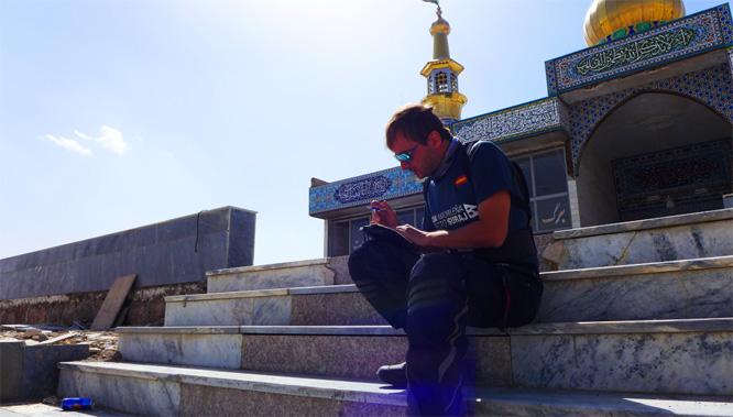 Fabián C. Barrio en Irán